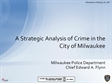 Image of A Strategic Analysis of Crime in the City of Milwaukee Report Cover