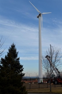 Port of Milwaukee Wind Turbine