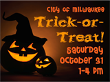Trick-or-Treat is Saturday, Oct. 31