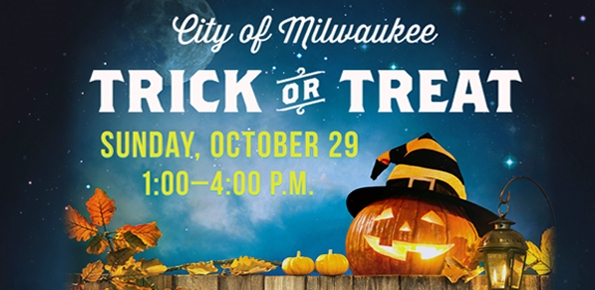 Trick-or-Treat is Sunday, Oct. 29