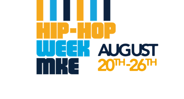 Hip-Hop Week MKE logo and dates August 20th -26th