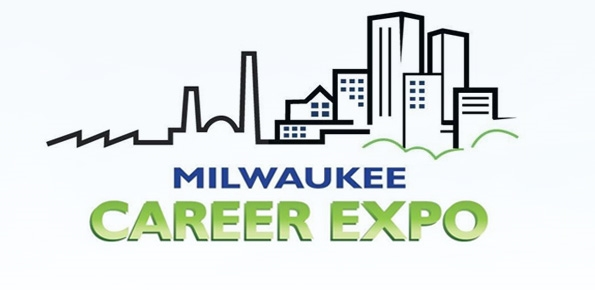 Milwaukee Career Expo logo sketch of Milwaukee skyline