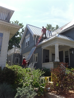 Installation of residential rooftop solar panels