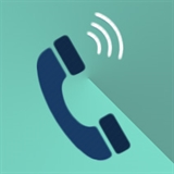 Icon of a telephone.