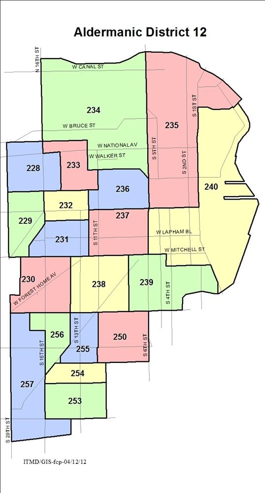 Milwaukee Renaissance  GodsilAlderman Districts