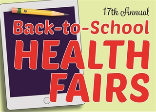 2017 Back-to-School Health Fair Logo