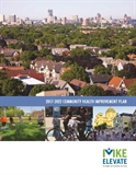 Image of Cover of MKE Elevate Community Health Improvement Plan Report
