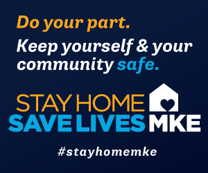 Stay Home MKE ad