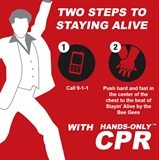 Hands-Only CPR:  Two Steps to Staying Alive