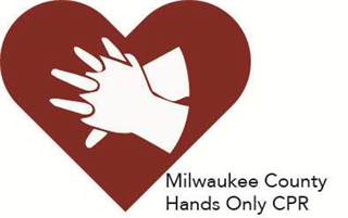 Milwaukee County hands-only CPR icon
