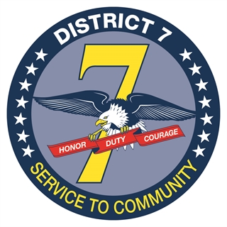MPD District Seven logo