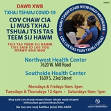 Covid Vaccine Walk-In Cliincs Hmong