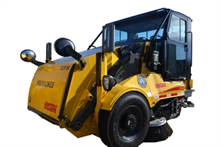 Photo of street sweeping equipment