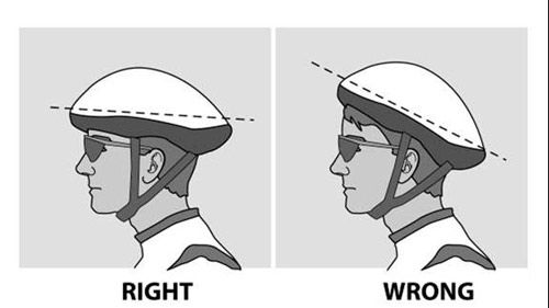 Always wear a properly-fitted helmet
