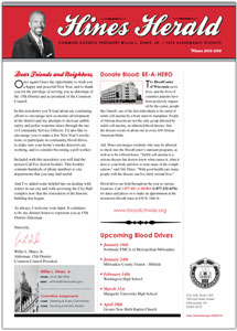 Click to open latest newsletter.
