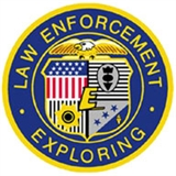 Law Enforcement Explorers shoulder patch