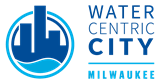 Milwaukee Environmental Collaboration Office logo, eco-City of Milwaukee