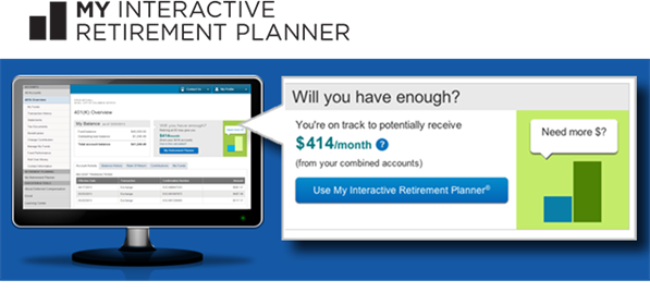 My Interactive Retirement Planner